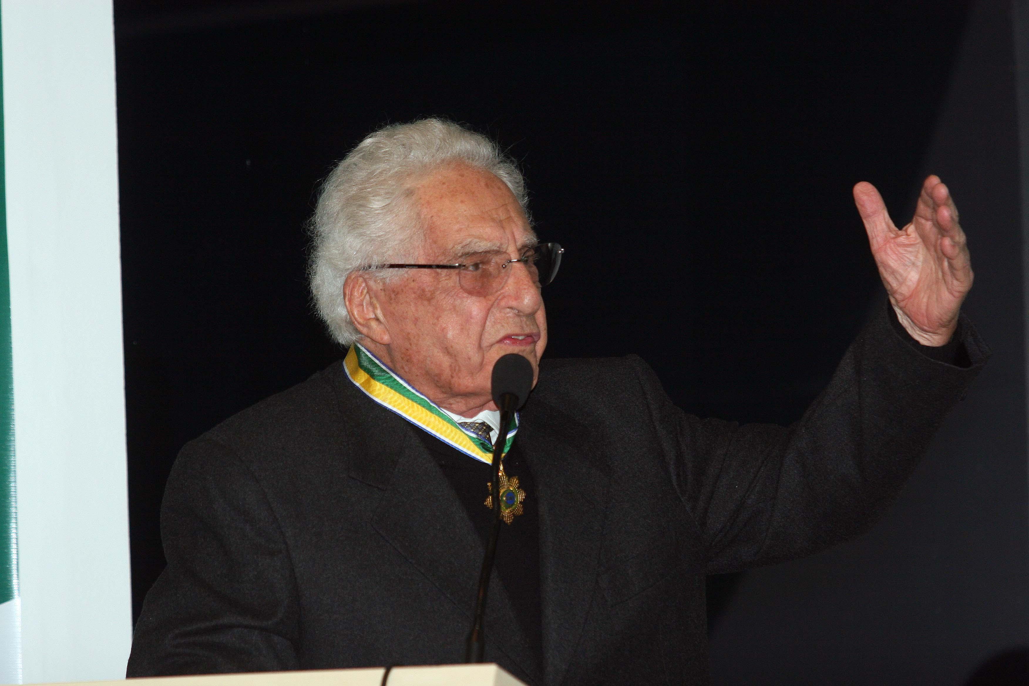 Em 2008, Victor Fontana recebeu a Ordem do Mérito Industrial, maior comenda da indústria brasileira, outorgada pela CNI. Foto: Felipe Christ