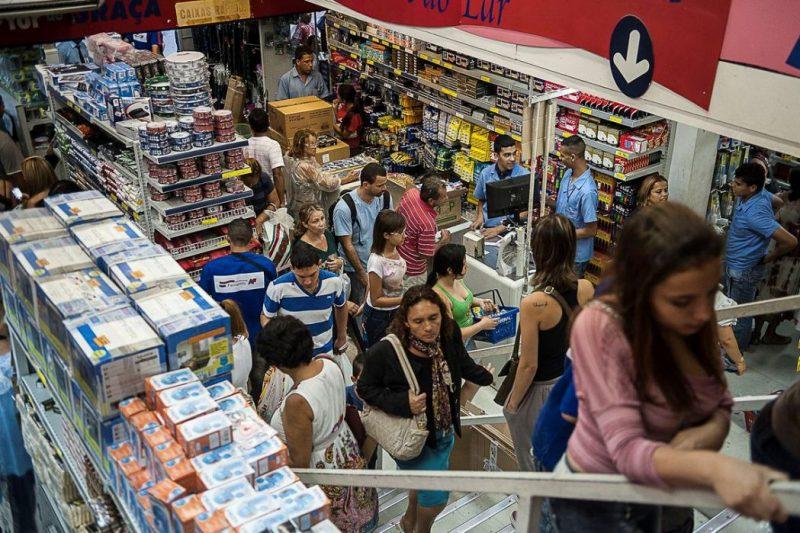 consumidor, compras, mercado, venda