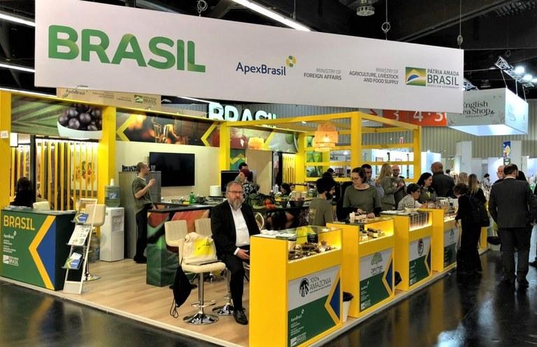 Estande Brasil da BioFach 2020